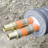 Water supply insulation in the ground: rules for thermal insulation of external branches