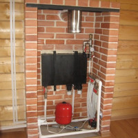 How to arrange heating a private house without gas: the organization of the system in a wooden building