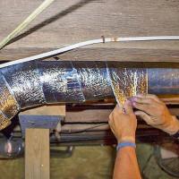 Comment et comment isoler le tuyau de ventilation: règles et réglementations pour l'isolation des conduits