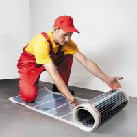 Infrared carbon warm floor: operating principle and laying rules