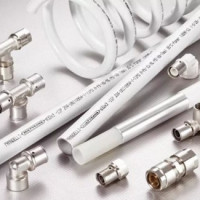 Press fittings for plastic pipes: types, marking, purpose + installation example
