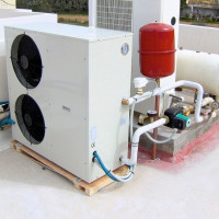 How to make an air-water heat pump: device diagrams and self-assembly