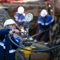 Gas line pressure testing: how are control tightness tests carried out