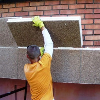 Insulation for walls of the house outside: an overview of options + tips for choosing an external insulation