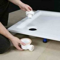 Sifon för duschbricka: design, syfte, installationsfunktioner
