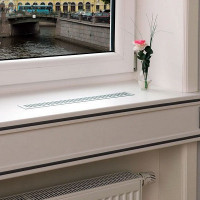 Window sill ventilation: methods and detailed instructions for arranging window sill ventilation