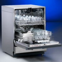 The principle of operation of a typical dishwasher: design, main components, operating rules