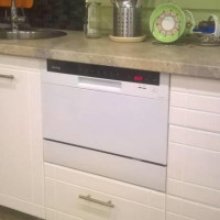 Overview of the Korting KDF 2050 dishwasher: a working baby is a godsend for a smart apartment