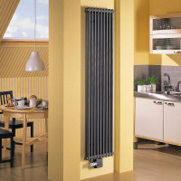 Vertical heating radiators: types + advantages and disadvantages + brand overview