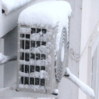 Is it possible to use air conditioning for heating in cold weather and how to prepare it for this job?