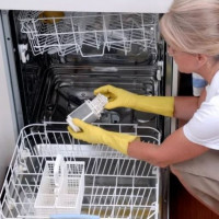 How to clean a dishwasher at home: the best mechanical and chemical methods