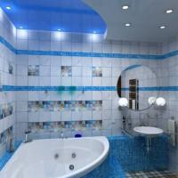 Un bon éclairage dans la salle de bain: techniques de conception + normes de sécurité