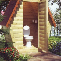 Country toilet: an overview of the types of garden models for a country toilet and the features of their installation