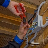 Electrician in a wooden house: diagrams + installation instructions