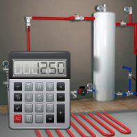 The average gas consumption for heating a house is 150 m²: an example of calculations and an overview of heat engineering formulas