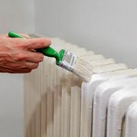 Comment peindre une batterie de chauffage: une technologie pas à pas pour peindre des radiateurs