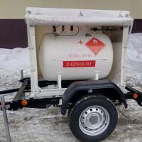 Réservoir de gaz mobile: objectif, caractéristiques de conception et d'installation, exigences de placement