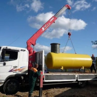 Turnkey gas holder: how to install a gas tank and install equipment