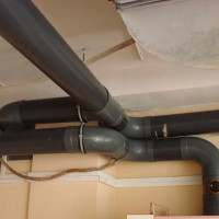 Installation of plastic ventilation ducts: a guide to the construction of a system of polymer pipes