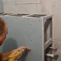 We make a box for pipes in the bathroom: step-by-step installation instructions