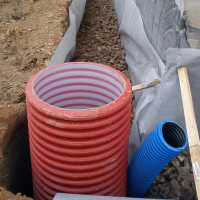 Plastic wells for drainage: device, types, classification, installation instructions