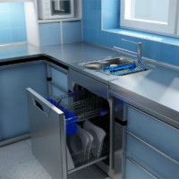 The best dishwashers for the sink: TOP-15 compact dishwashers on the market