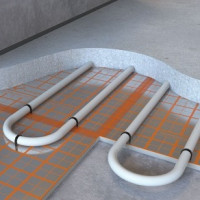 How to make a water heated floor under linoleum: design rules and an overview of installation technology
