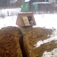 Winter water supply from a well: an overview of the best options and arrangement schemes