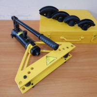 How to choose a hydraulic pipe bender: types of equipment and its features