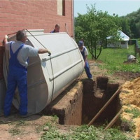How to install the Tver septic tank: an overview of installation technology