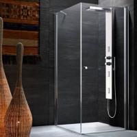 En duschkabins enhet utan pall: detaljerade monteringsanvisningar