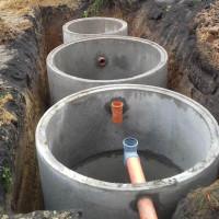 Septikas iš betoninių žiedų: prietaisas, schemos + žingsnis po žingsnio montavimo procesas