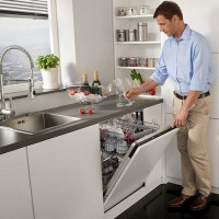 Tank of the dishwasher: causes and options for breakdowns + ways to eliminate them