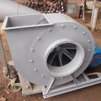 Centrifugal fan: device specifics and device operating principle