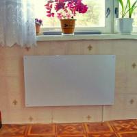 Panneaux chauffants infrarouges: types, principe de fonctionnement, caractéristiques d'installation et de fonctionnement