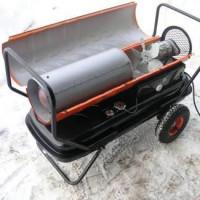 Do-it-yourself diesel heat gun: homemade manufacturing instructions