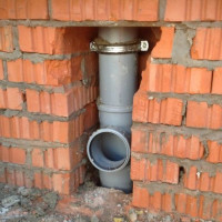 Sewerage ventilation in a private house: schemes and design rules