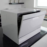Desktop dishwashers: an overview of the best models + rules for choosing dishwashers