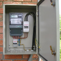 Street box for the electric meter: requirements and features of the choice and installation of the electrical panel