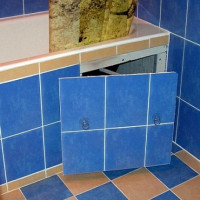 Inspection hatches for tiles: an overview of the best designs and options for their arrangement