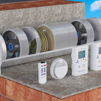 Heated ventilation in the apartment: types of heaters, especially their selection and installation