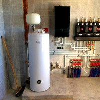 Indirect heating boiler for gas boiler: specifics of operation and connection