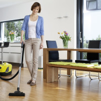 TOP-8 Karcher vacuum cleaners with aquafilter: a review of models + what to look at before buying