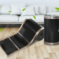 Infrared film for underfloor heating: types of films, how it works, laying rules