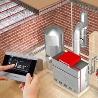 Designing heating systems for country cottages: how not to make mistakes
