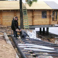 DIY geothermal heat pump for home heating: device, design, self-assembly