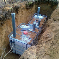What capacity for a septic tank is better to choose + how to make it yourself