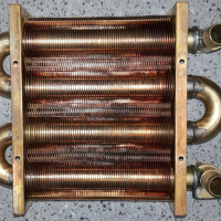 Do-it-yourself gas boiler heat exchanger repair + instruction on repair and part replacement