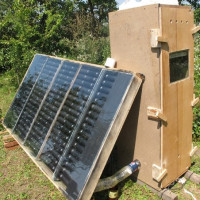 How to make a solar collector for DIY heating: a step-by-step guide