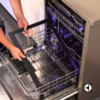 Built-in dishwashers Electrolux 45 cm: the best models, comparison with competitors